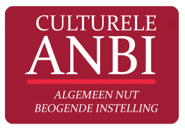 Culturele ANBI logo - VNCE is een ANBI geregistreerde stichting
