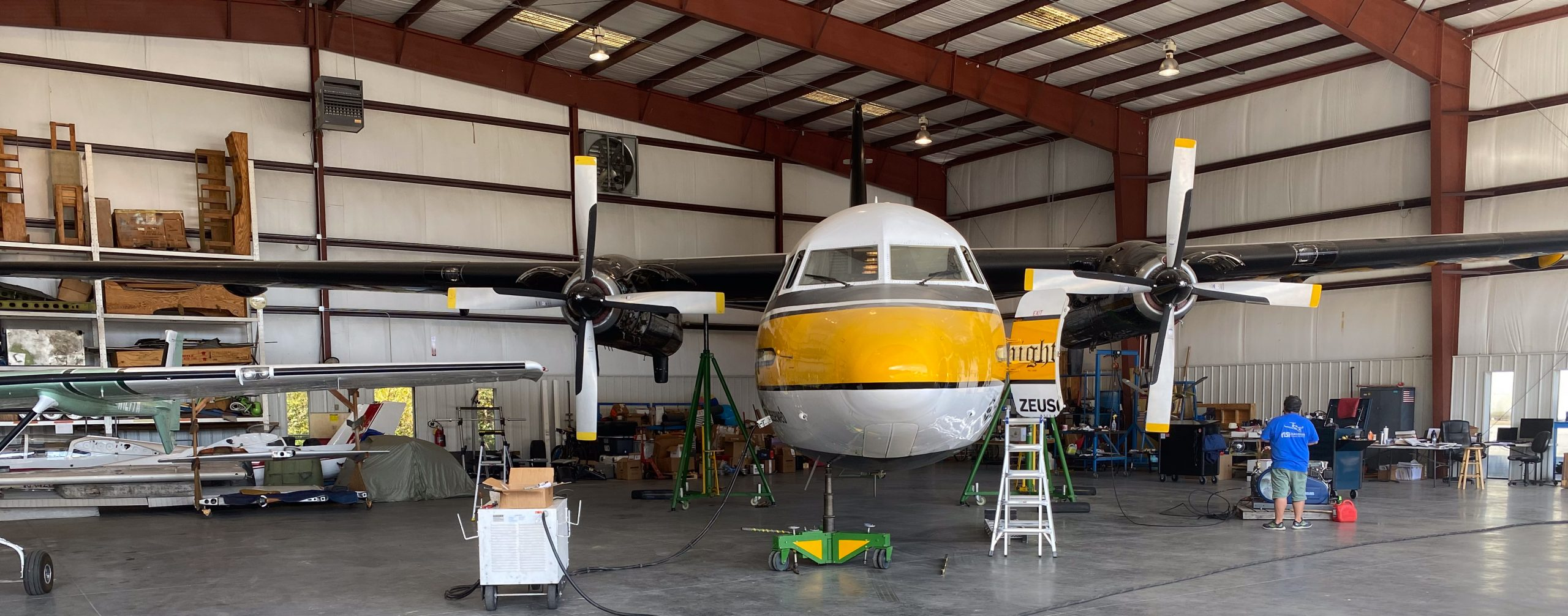 You are currently viewing Carrollton F.27 Maintenance