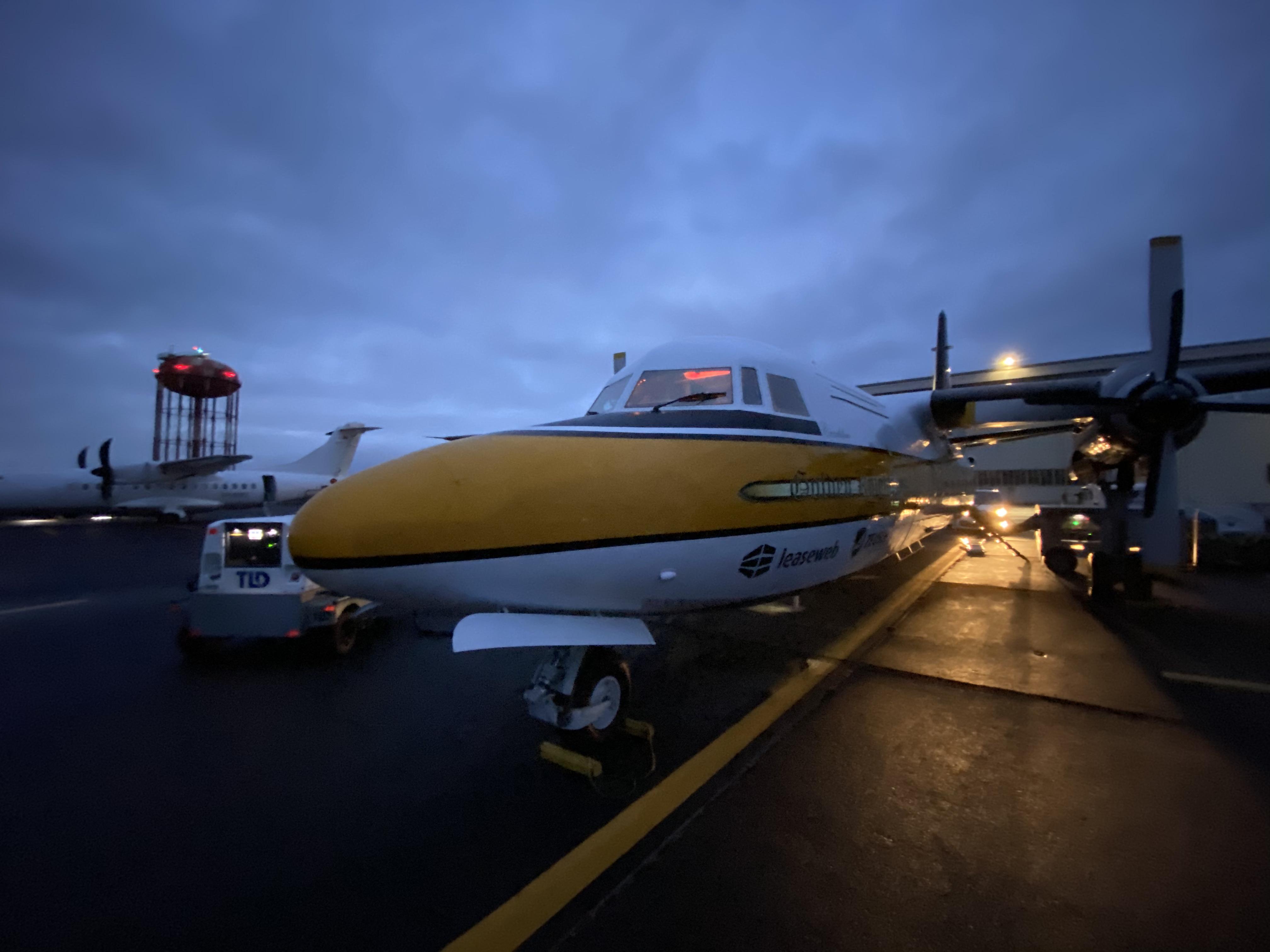 De F27 Excalibur - Van Reykjavik naar Lelystad