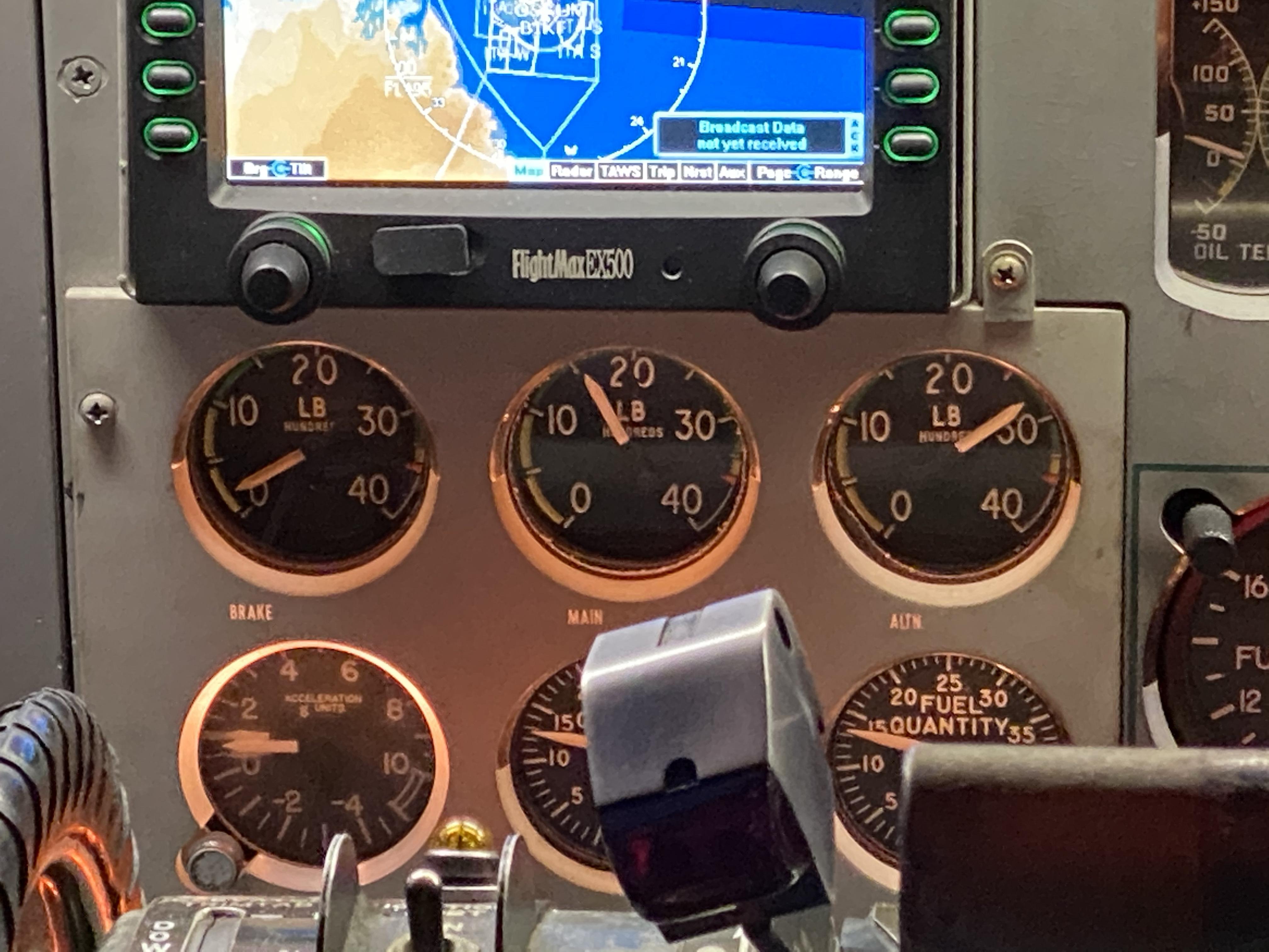 De F27 Excalibur - Van Reykjavik naar Lelystad - In de cockpit