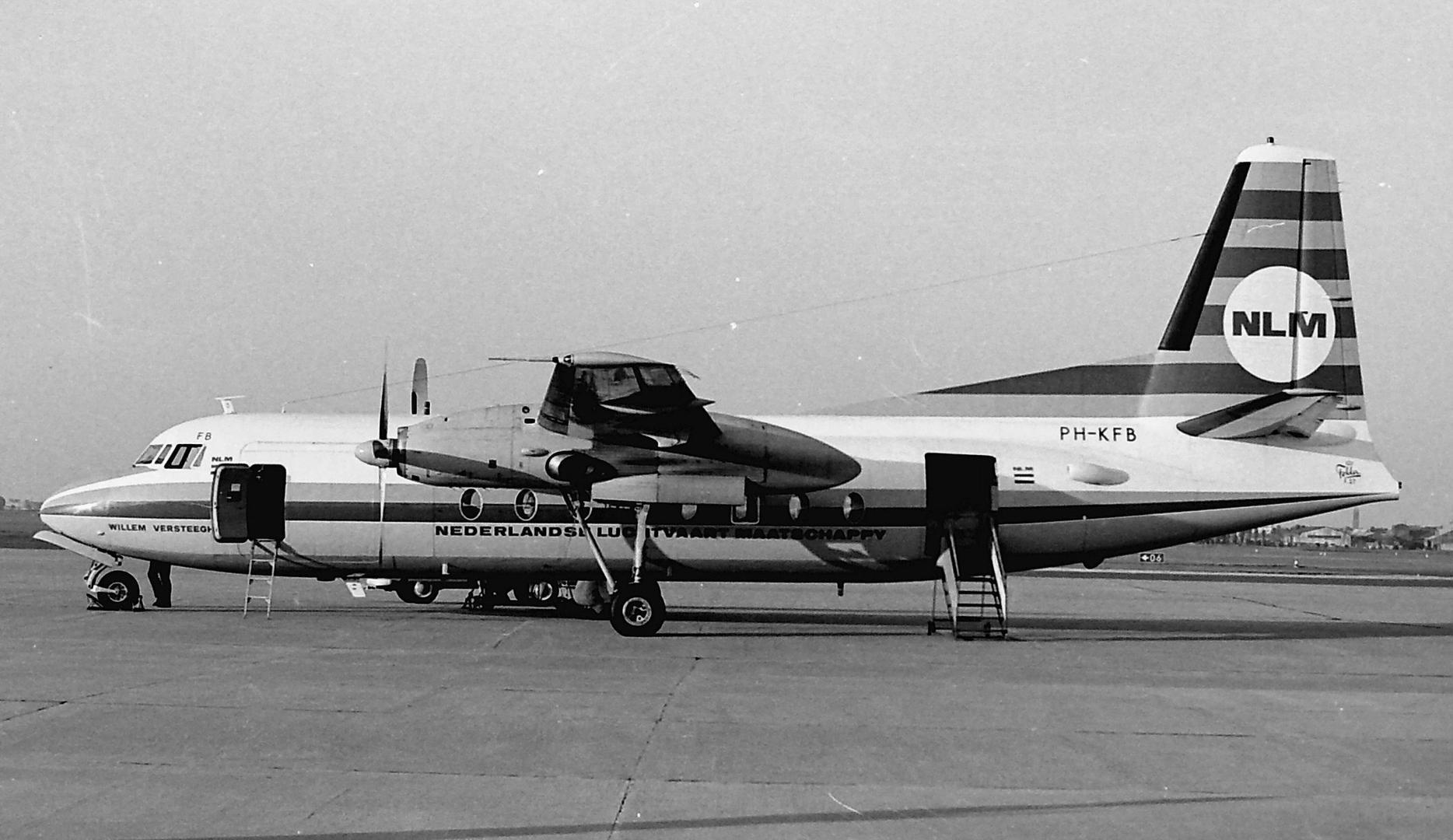 PH-KFB F-27 -300M Troopship NLM                                                                                                                                    (David Booster, Rotterdam, 1969)