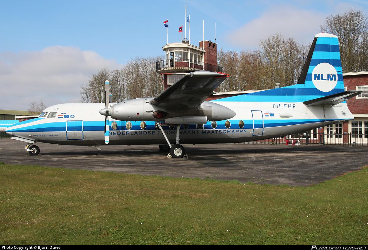 PH-FHF NLM Cityhopper Fokker F27-100 Friendship