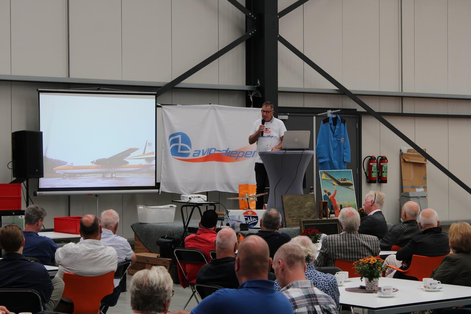 2021 bijeenkomst VOFE vereniging oud Fokker Ypenburg medewerkers