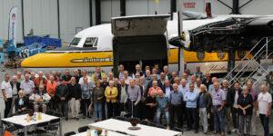 Read more about the article Bijzondere bijeenkomst van oud Fokker medewerkers
