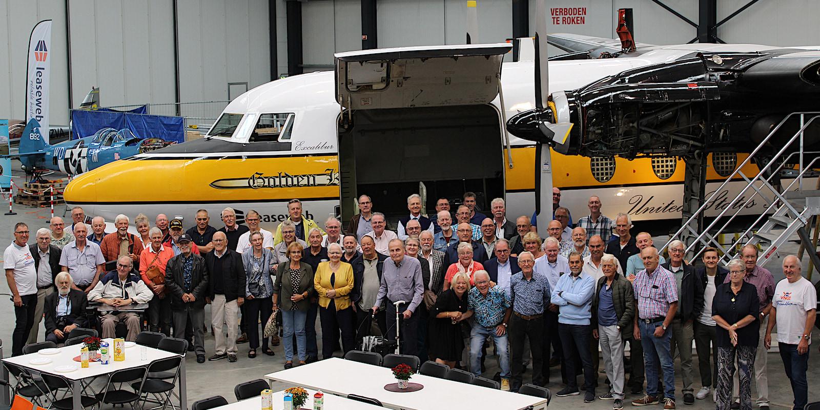 You are currently viewing Bijzondere bijeenkomst van oud Fokker medewerkers